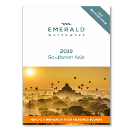 Emerald Waterways 2019 Southeast Asia Brochure Cover