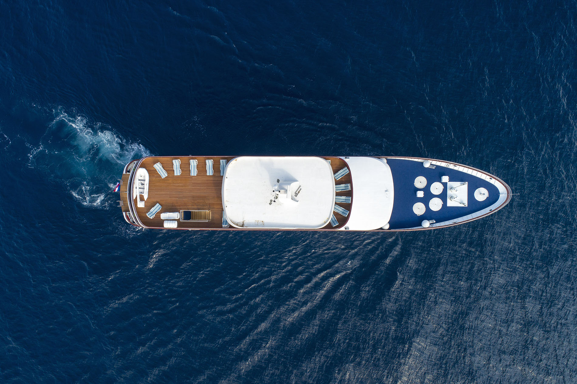 Adriatic Princess from above