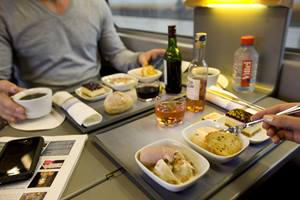 Food on board the Eurostar