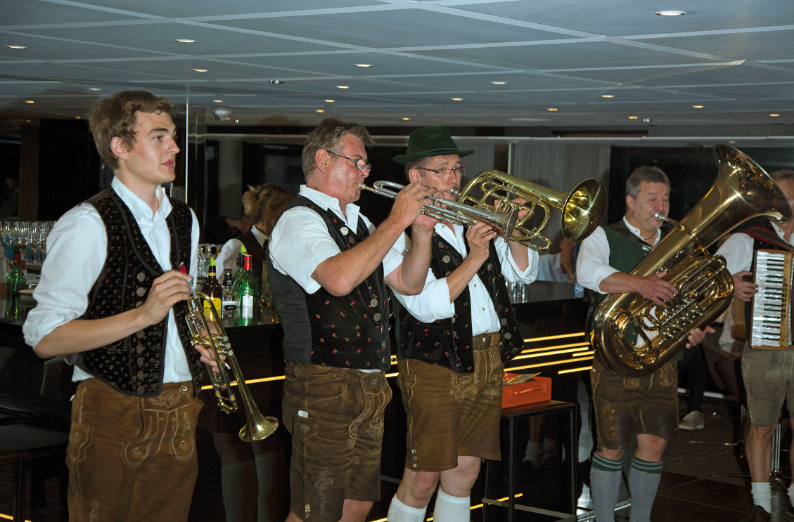Band performing on Cruise