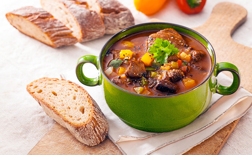 Traditional Hungarian Stew
