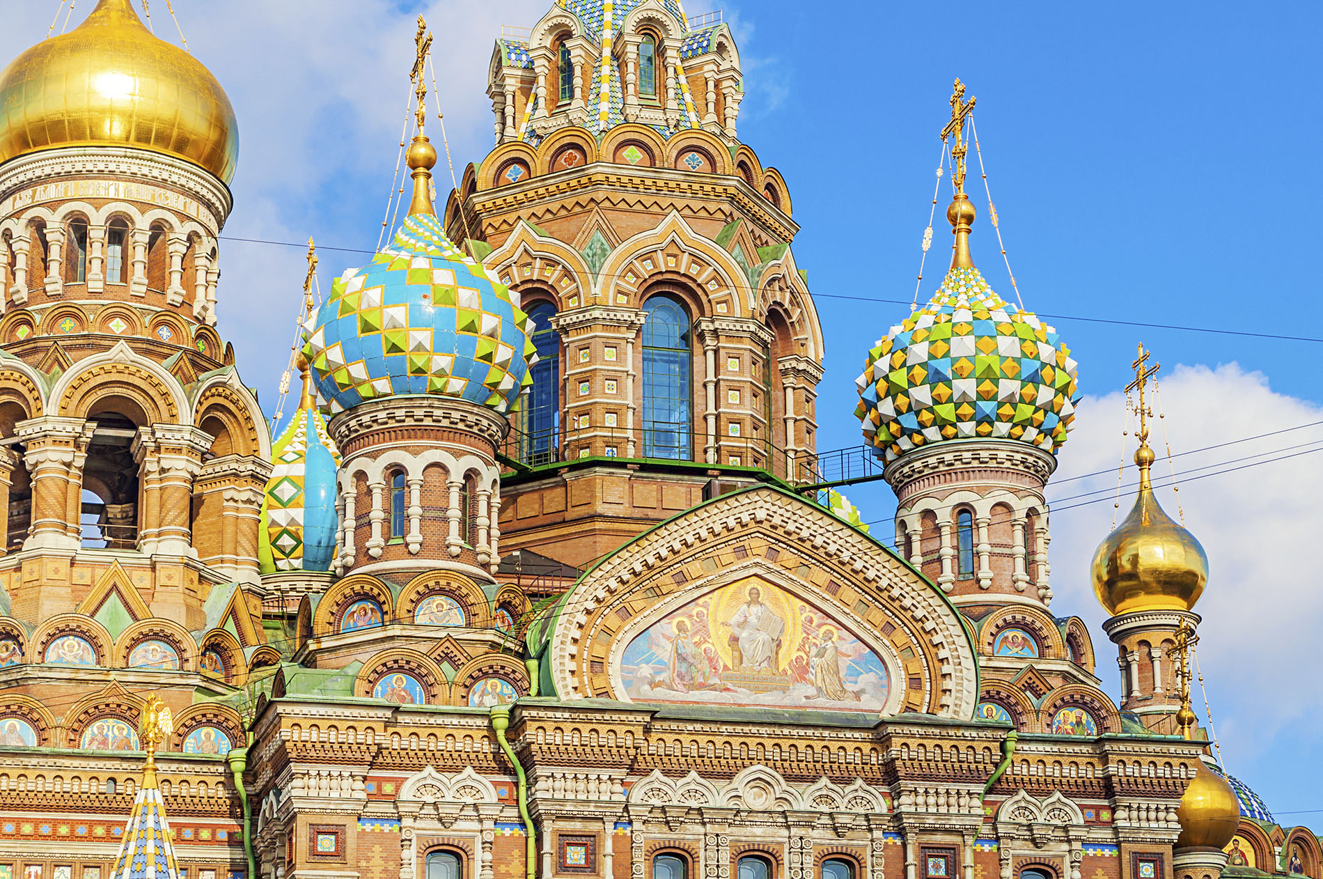 The Church of Our Savior on Spilled Blood in St Petersburg