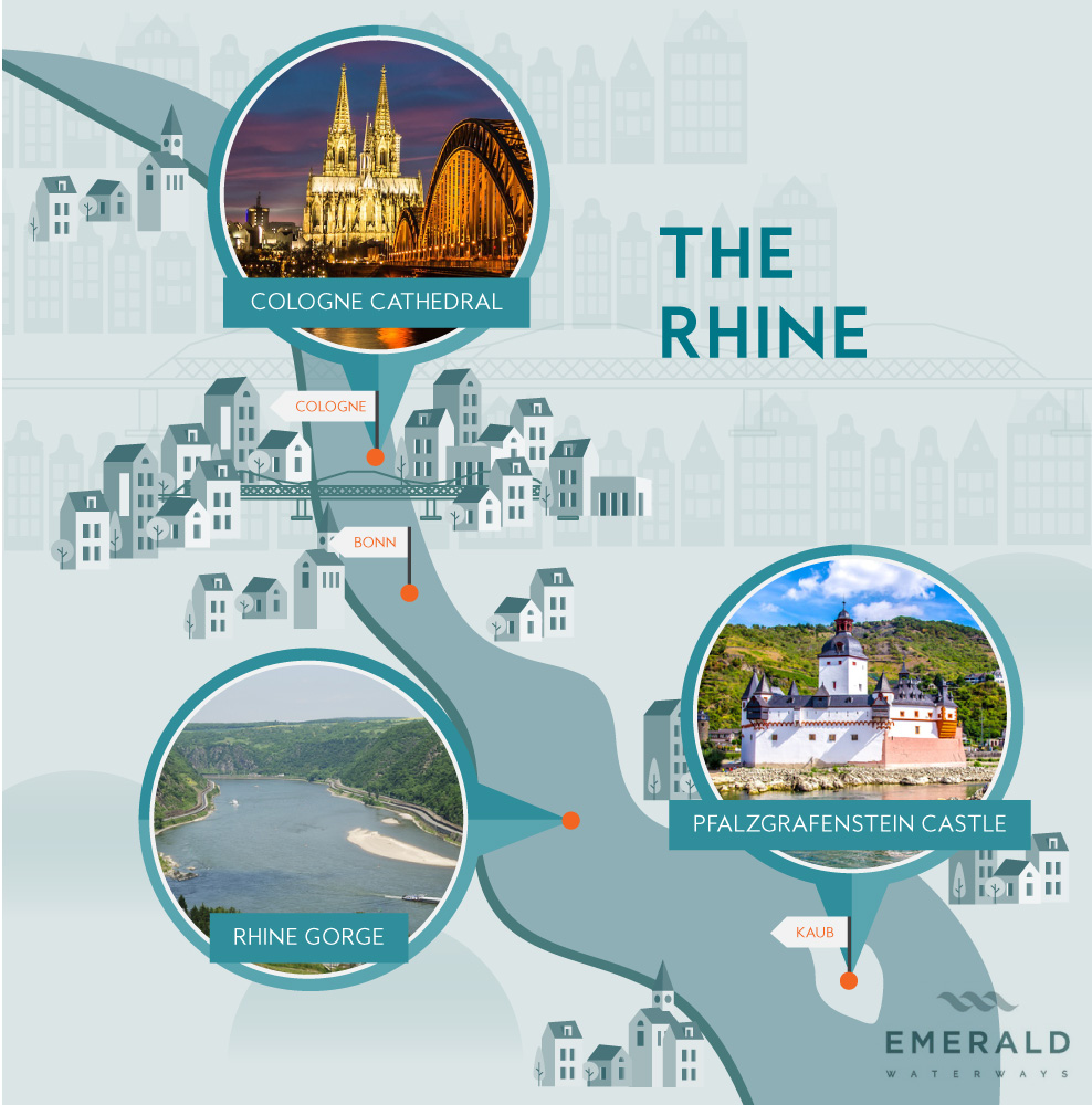 The Rhine river cruise